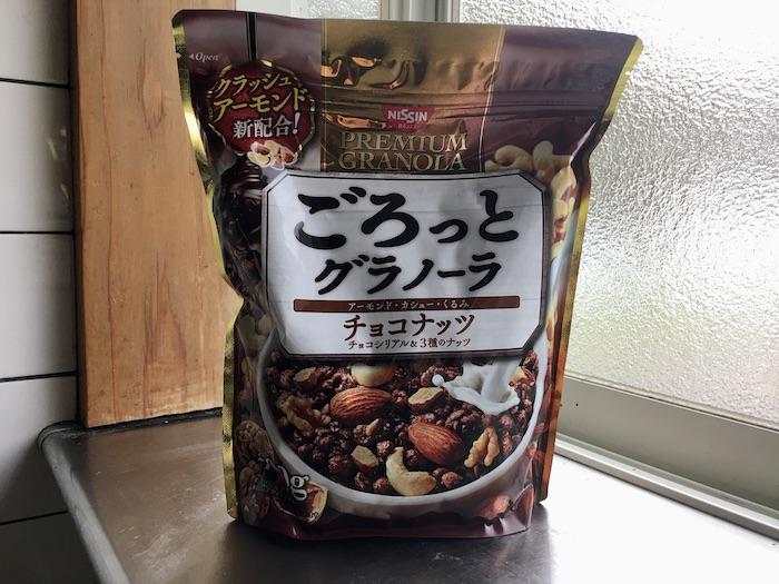 巧克力堅果穀片